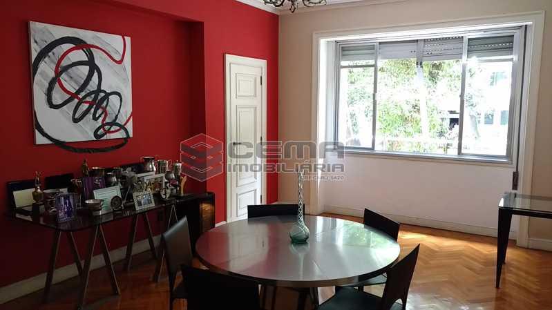3 sala de jantar 2 - Apartamento à venda Avenida Oswaldo Cruz,Flamengo, Zona Sul RJ - R$ 1.899.000 - LA40638 - 4