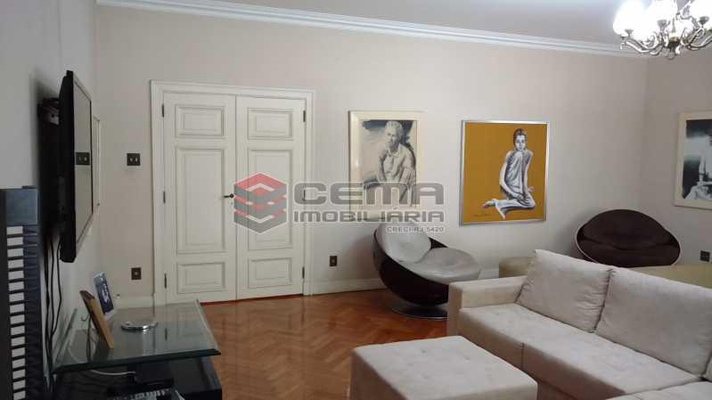 2 salão1 - Apartamento à venda Avenida Oswaldo Cruz,Flamengo, Zona Sul RJ - R$ 1.899.000 - LA40638 - 3