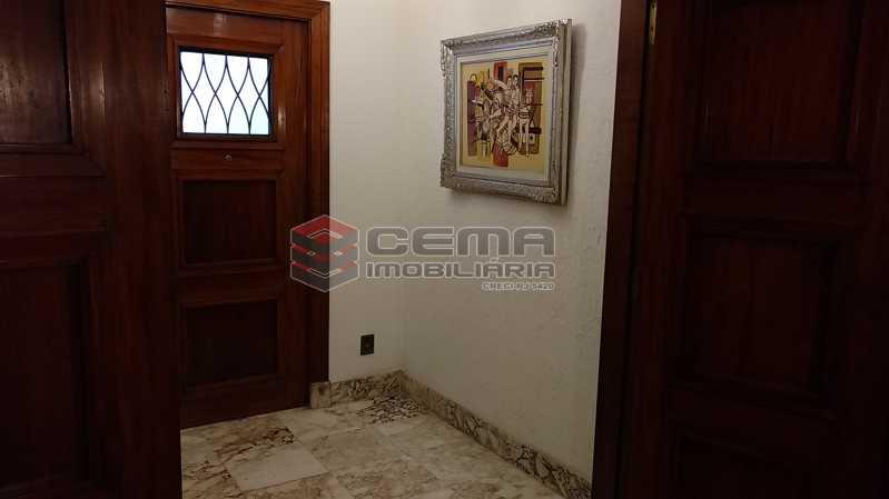 6 hall elevador - Apartamento à venda Avenida Oswaldo Cruz,Flamengo, Zona Sul RJ - R$ 1.899.000 - LA40638 - 6