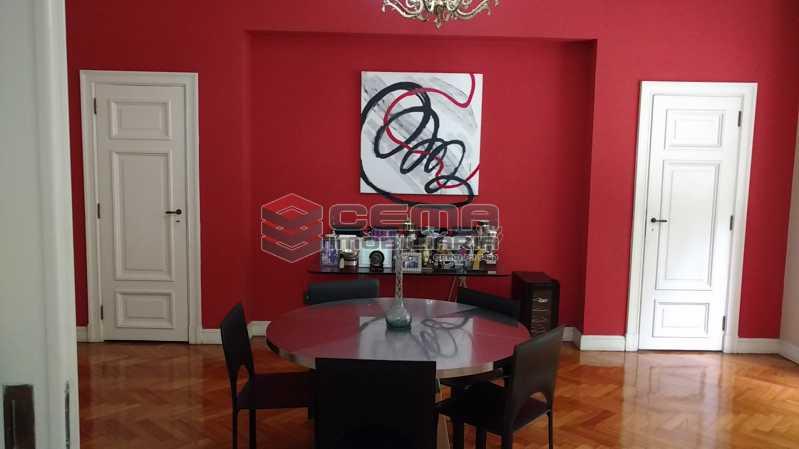 sala de jantar 1 - Apartamento à venda Avenida Oswaldo Cruz,Flamengo, Zona Sul RJ - R$ 1.899.000 - LA40638 - 5