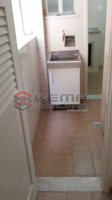 foto 19_area - Apartamento 2 quartos à venda Laranjeiras, Zona Sul RJ - R$ 850.000 - LAAP21948 - 20