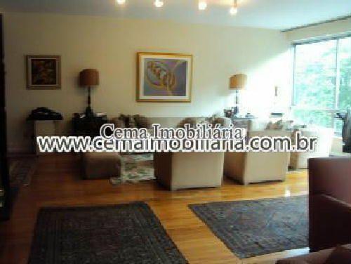 Salão f2 - Apartamento à venda Avenida Rui Barbosa,Flamengo, Zona Sul RJ - R$ 2.987.000 - LA40772 - 3