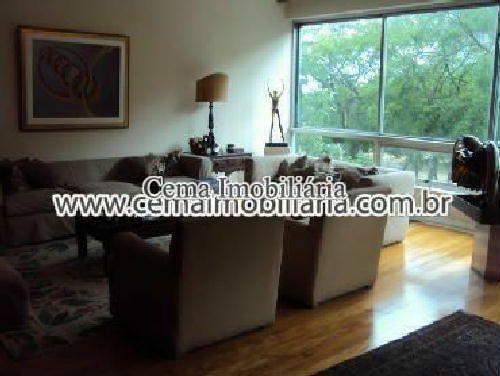SALA - ANG01 - Apartamento à venda Avenida Rui Barbosa,Flamengo, Zona Sul RJ - R$ 2.987.000 - LA40772 - 6