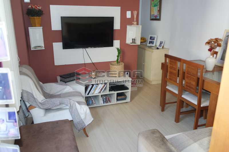 Sala - Apartamento 1 quarto à venda Glória, Zona Sul RJ - R$ 320.000 - LAAP11165 - 1