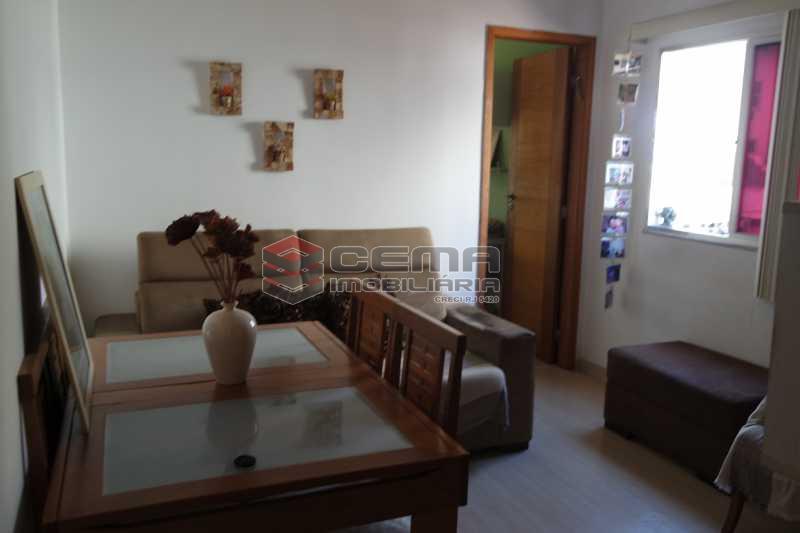 Sala  - Apartamento 1 quarto à venda Glória, Zona Sul RJ - R$ 320.000 - LAAP11165 - 3
