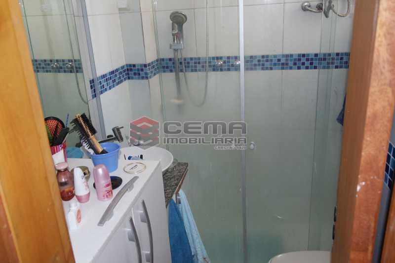 Banheiro - Apartamento 1 quarto à venda Glória, Zona Sul RJ - R$ 320.000 - LAAP11165 - 11
