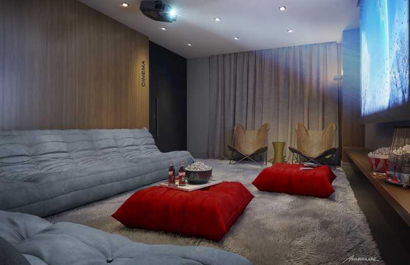Perspectiva Cinema - Botafogo! Luxuoso 3 quartos(suíte), varanda, 2 vagas, Vista deslumbrante. - LAAP31659 - 23