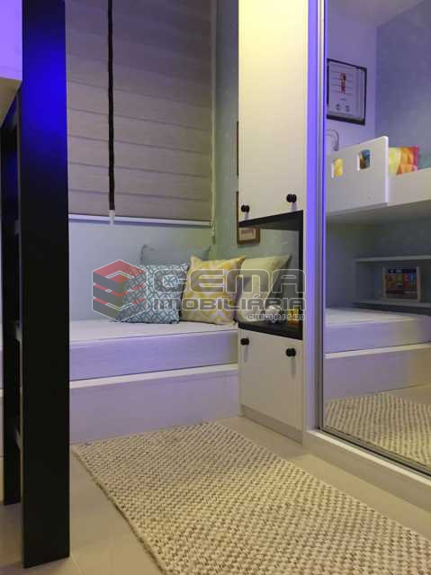 Projeção Apartamento Decorado - dois quartos com vaga e enfraestrutura na Tijuca - LAAP31713 - 7