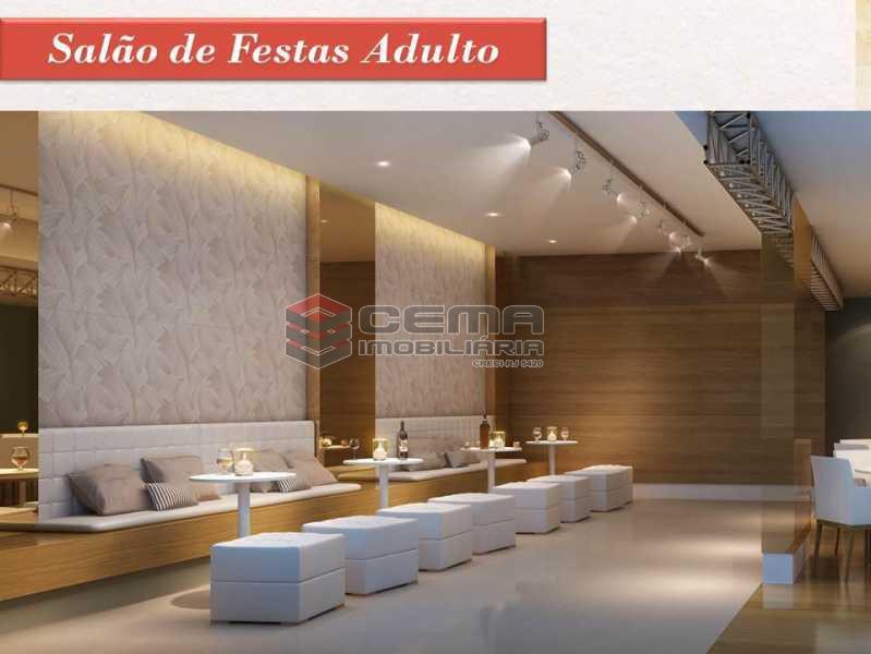 Infra - dois quartos com vaga e enfraestrutura na Tijuca - LAAP31713 - 18