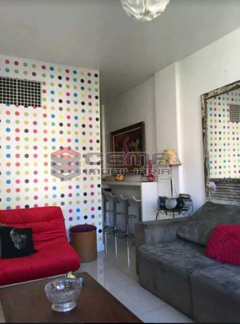 sala 4 - Conjugado dividido quarto e sala na Gloria - LAAP11198 - 3