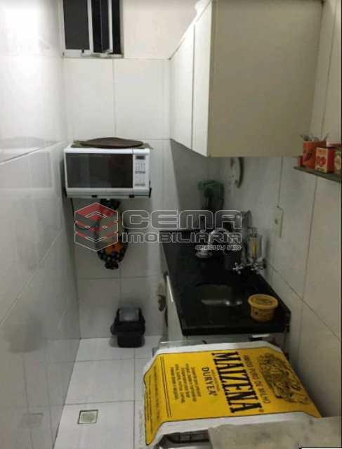 cozinha 1 - Conjugado dividido quarto e sala na Gloria - LAAP11198 - 12
