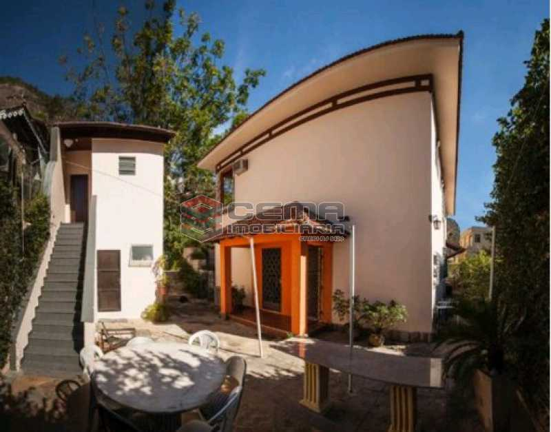 externa 1 - Casa Duplex no Cosme Velho - LACA60011 - 1