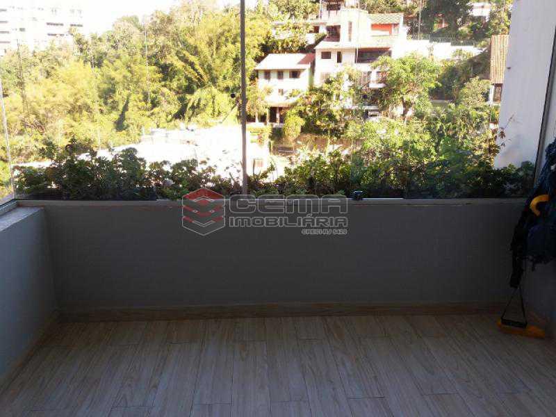 Varanda Fechada - Apartamento com varanda, 3 três quartos em Laranjeiras. - LAAP31811 - 6