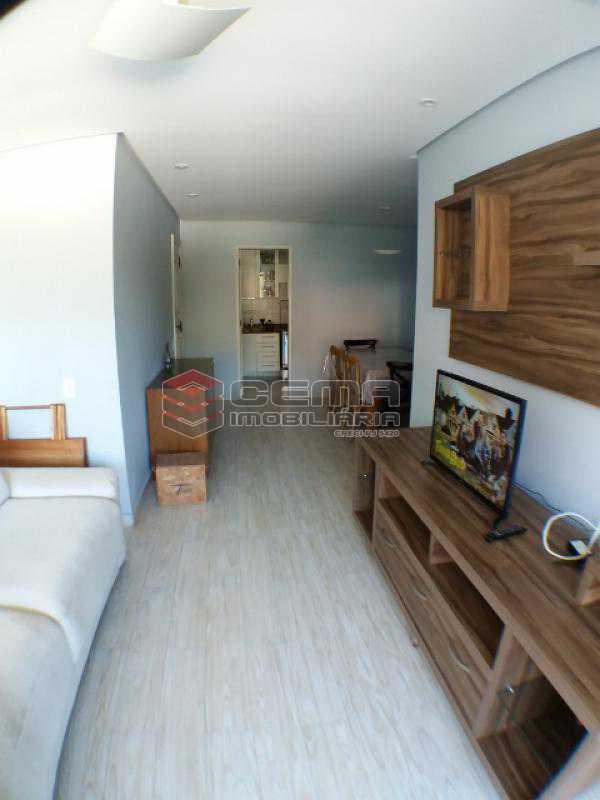Sala - Apartamento com varanda, 3 três quartos em Laranjeiras. - LAAP31811 - 3