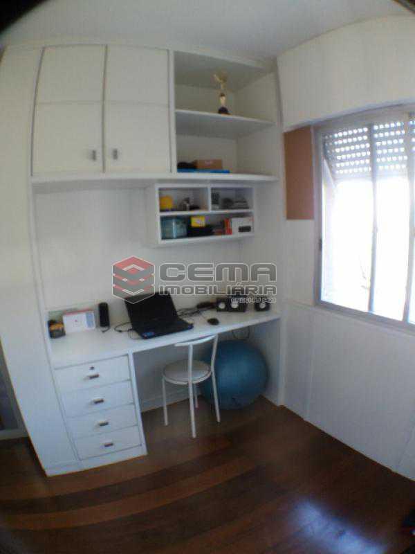 Quarto 3 - Apartamento com varanda, 3 três quartos em Laranjeiras. - LAAP31811 - 16
