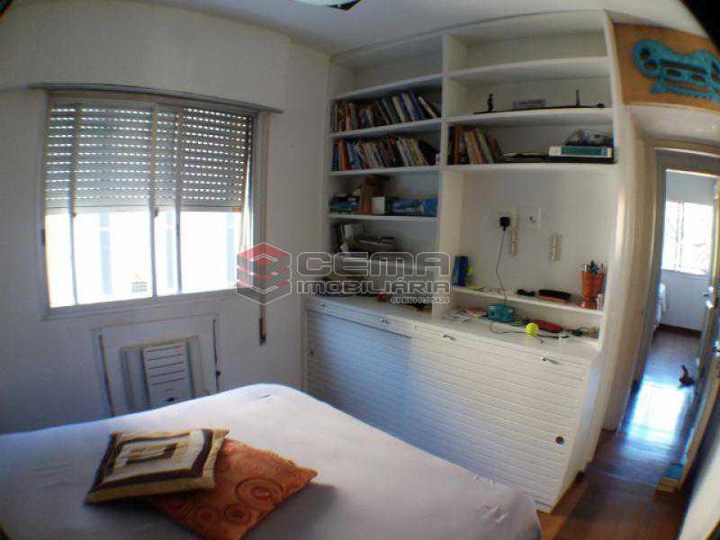 Quarto 1 - Apartamento com varanda, 3 três quartos em Laranjeiras. - LAAP31811 - 10