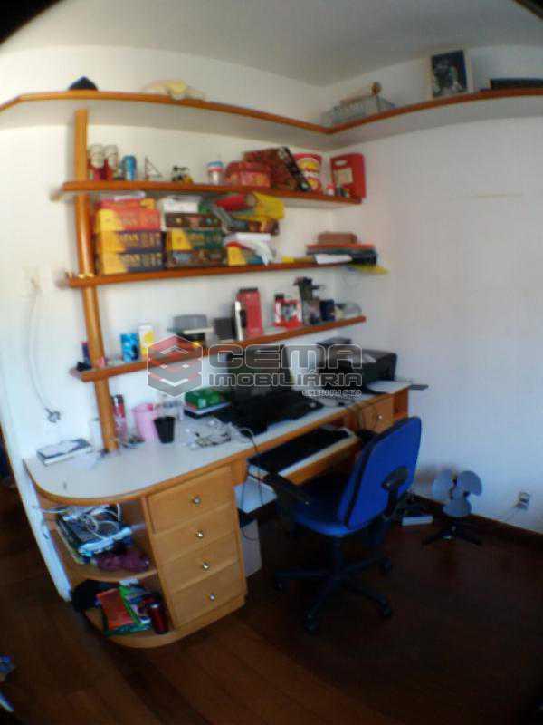Quarto 2 - Apartamento com varanda, 3 três quartos em Laranjeiras. - LAAP31811 - 15