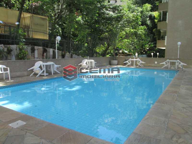 Piscina - Apartamento com varanda, 3 três quartos em Laranjeiras. - LAAP31811 - 4