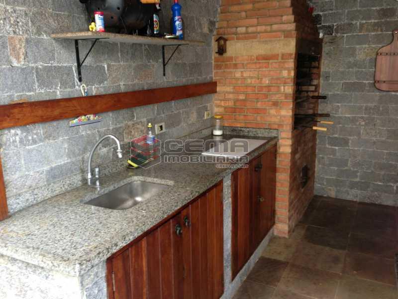 Churrasqueira - Casa duplex próximo a reserva ambiental do Grajaú. - LACA50018 - 17