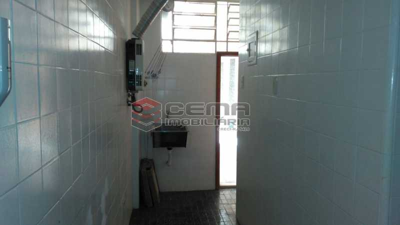 cozinha - Apartamento andar alto com vista livre e Cristo em Botafogo - LAAP11242 - 22