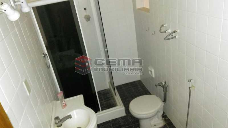 banheiro - Apartamento andar alto com vista livre e Cristo em Botafogo - LAAP11242 - 21