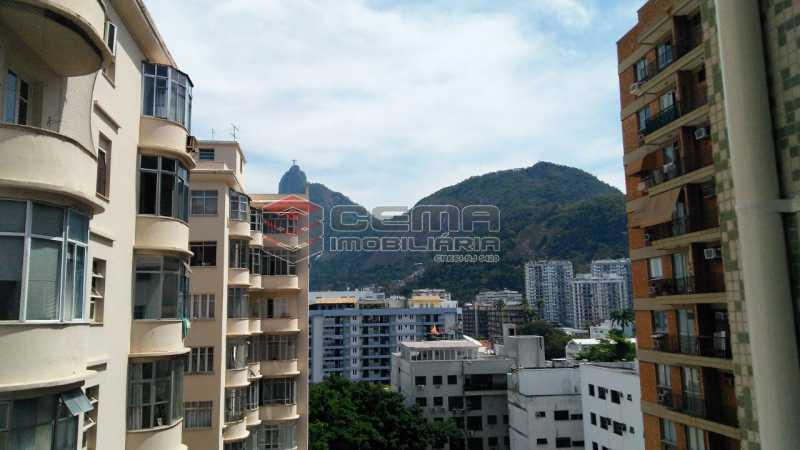 vista - Apartamento andar alto com vista livre e Cristo em Botafogo - LAAP11242 - 1