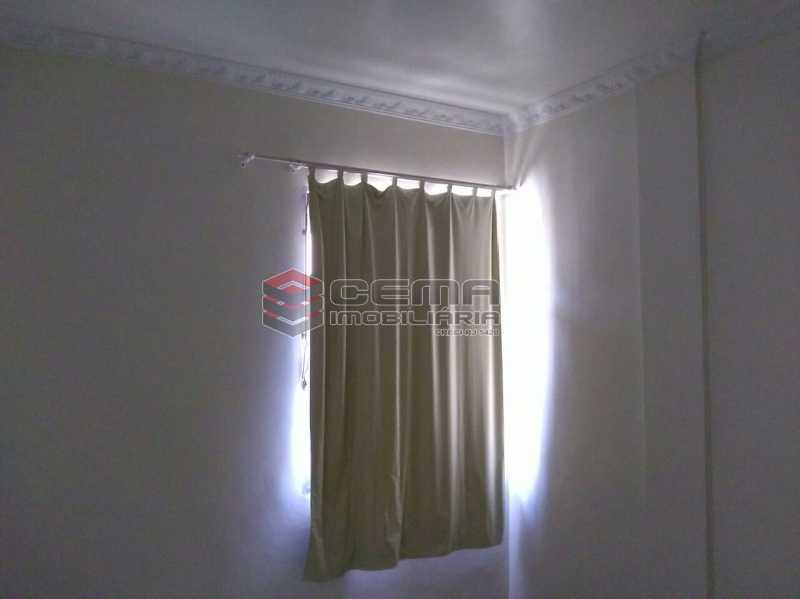 quarto 1 - Apartamento andar alto com vista livre e Cristo em Botafogo - LAAP11242 - 9