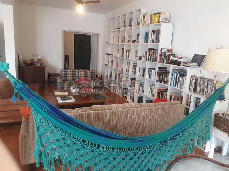 sala - Apartamento à venda Rua Senador Vergueiro,Flamengo, Zona Sul RJ - R$ 1.850.000 - LA40916 - 5