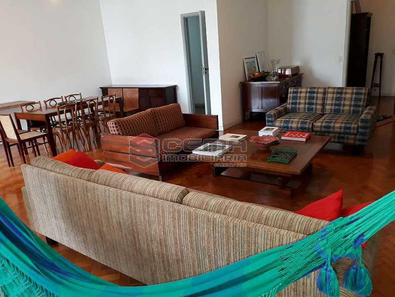 sala - Apartamento à venda Rua Senador Vergueiro,Flamengo, Zona Sul RJ - R$ 1.850.000 - LA40916 - 4
