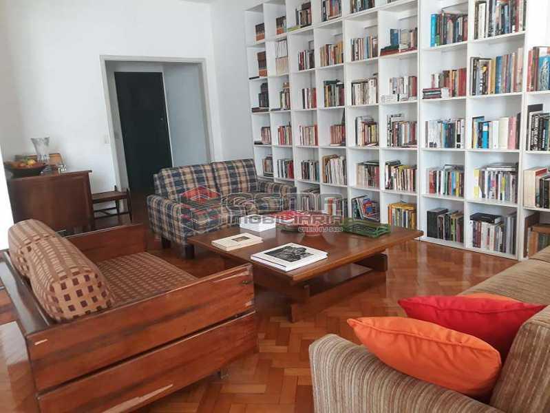 sala - Apartamento à venda Rua Senador Vergueiro,Flamengo, Zona Sul RJ - R$ 1.850.000 - LA40916 - 7