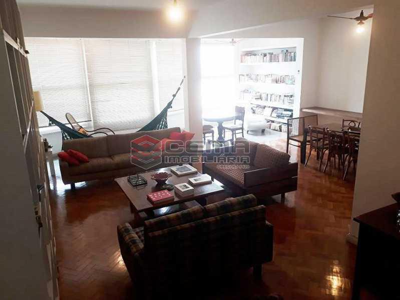 sala - Apartamento à venda Rua Senador Vergueiro,Flamengo, Zona Sul RJ - R$ 1.850.000 - LA40916 - 3