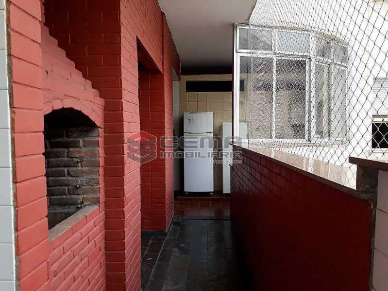 área de serviço - Apartamento à venda Rua Senador Vergueiro,Flamengo, Zona Sul RJ - R$ 1.850.000 - LA40916 - 21