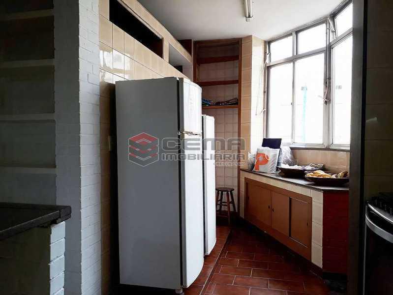 cozinha - Apartamento à venda Rua Senador Vergueiro,Flamengo, Zona Sul RJ - R$ 1.850.000 - LA40916 - 18