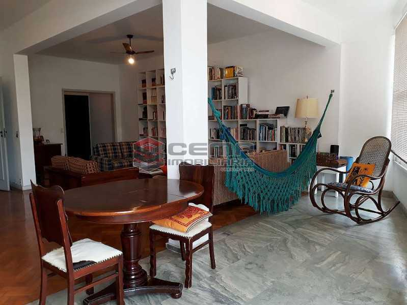 sala - Apartamento à venda Rua Senador Vergueiro,Flamengo, Zona Sul RJ - R$ 1.850.000 - LA40916 - 1
