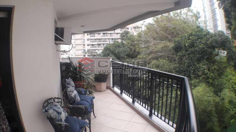 Varanda - Apartamento À Venda - Rio de Janeiro - RJ - Botafogo - LAAP22263 - 3