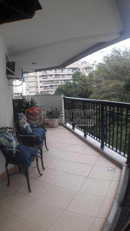 Varanda - Apartamento À Venda - Rio de Janeiro - RJ - Botafogo - LAAP22263 - 9