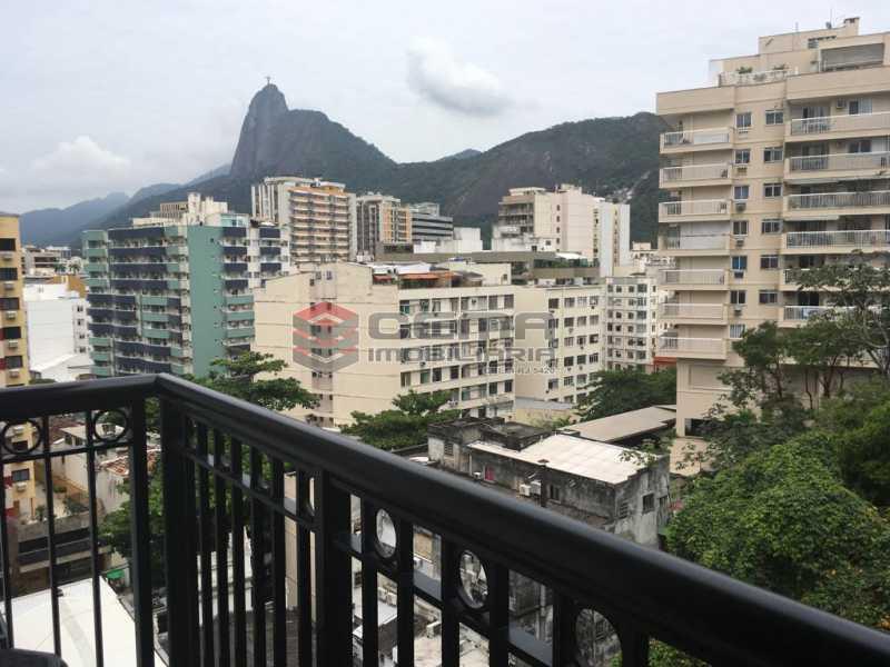 Vista  varanda - Apartamento À Venda - Rio de Janeiro - RJ - Botafogo - LAAP22263 - 16