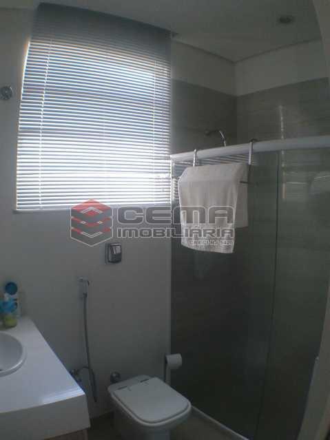 4.1 - Banheiro suíte 1. - Cobertura À Venda - Rio de Janeiro - RJ - Flamengo - LACO20066 - 14
