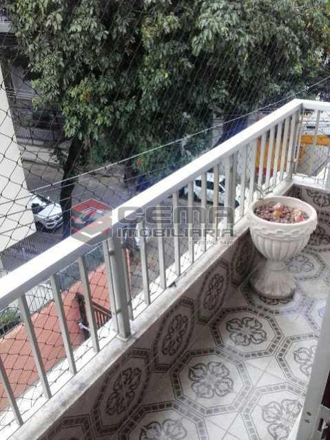 Sacada Lateral - Apartamento 3 quartos à venda Tijuca, Zona Norte RJ - R$ 795.000 - LAAP31933 - 25