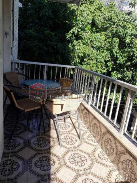 Varanda Frente - Apartamento 3 quartos à venda Tijuca, Zona Norte RJ - R$ 795.000 - LAAP31933 - 22