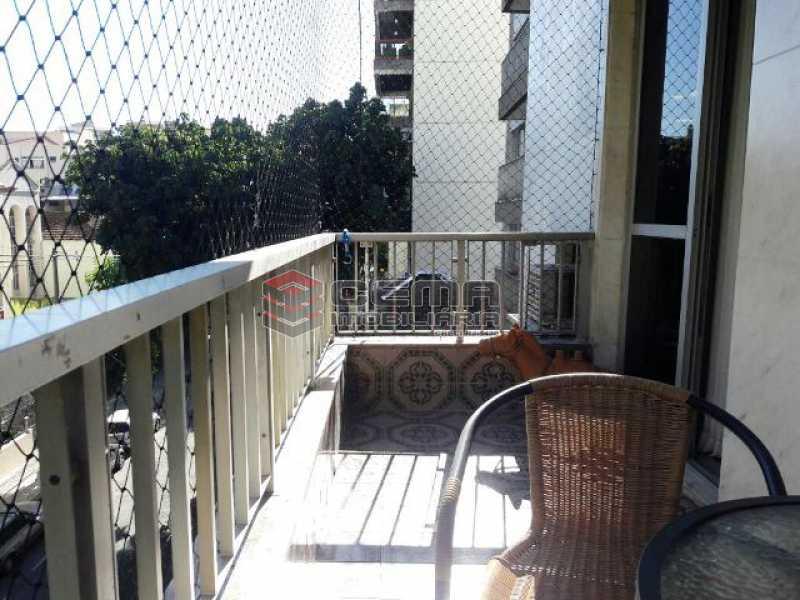 Varanda Frente - Apartamento 3 quartos à venda Tijuca, Zona Norte RJ - R$ 795.000 - LAAP31933 - 23
