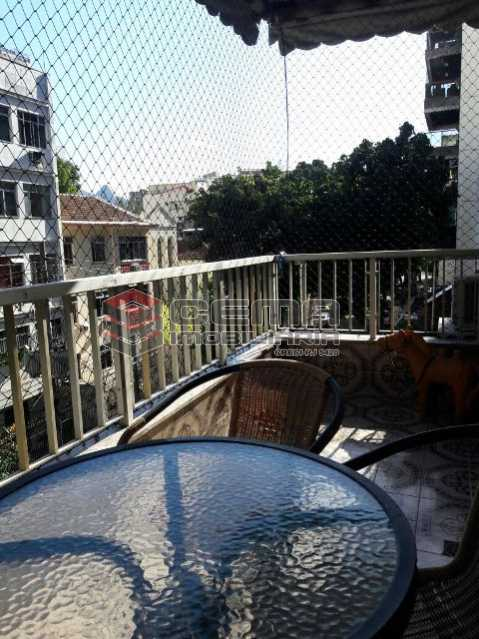 Varanda Frente - Apartamento 3 quartos à venda Tijuca, Zona Norte RJ - R$ 795.000 - LAAP31933 - 4
