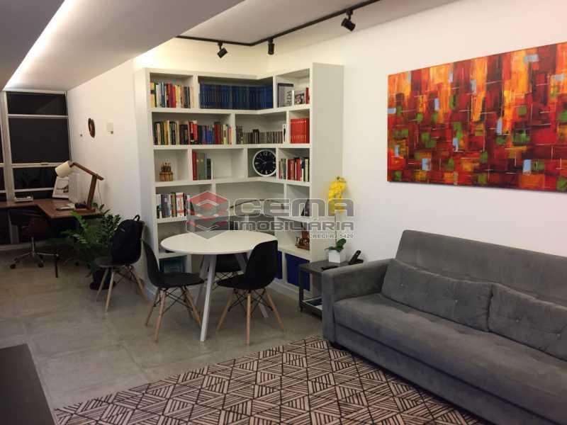 sala 1 - Apartamento À VENDA, Botafogo, Rio de Janeiro, RJ - LAAP22338 - 1