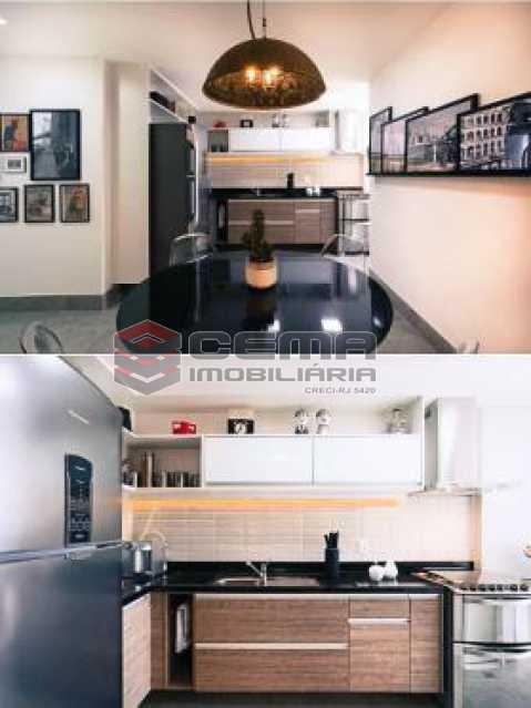 cozinha 1 - Apartamento À VENDA, Botafogo, Rio de Janeiro, RJ - LAAP22338 - 24