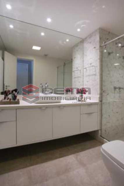 banheiro suite - Apartamento À VENDA, Botafogo, Rio de Janeiro, RJ - LAAP22338 - 14