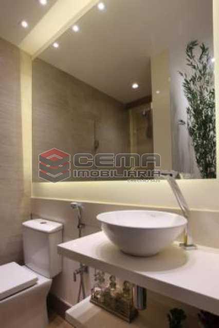 banheiro suite 2 - Apartamento À VENDA, Botafogo, Rio de Janeiro, RJ - LAAP22338 - 17