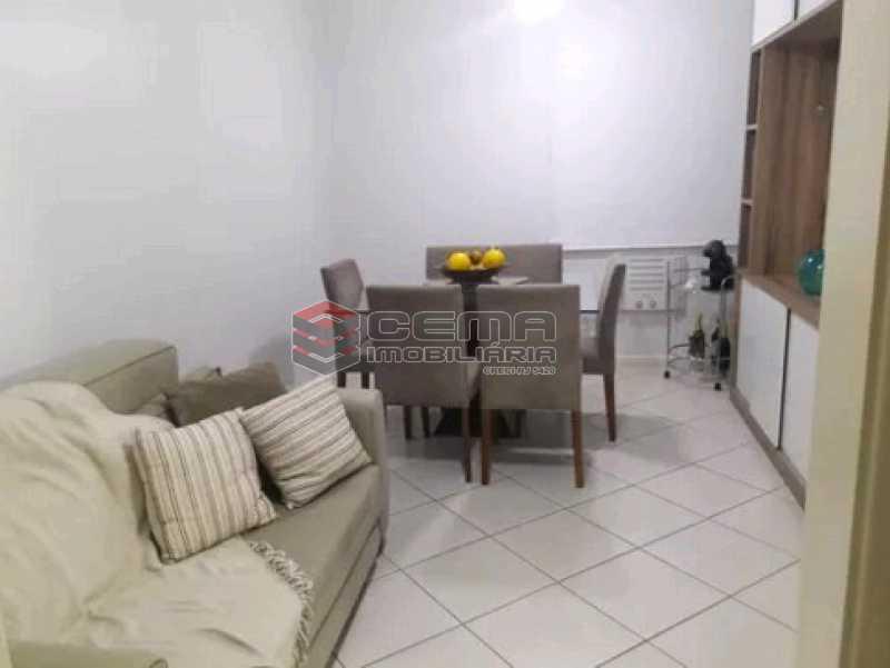 sala - Apartamento à venda Rua Cândido Mendes,Glória, Zona Sul RJ - R$ 485.000 - LAAP11350 - 1