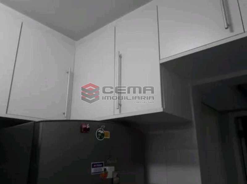 cozinha - Apartamento à venda Rua Cândido Mendes,Glória, Zona Sul RJ - R$ 485.000 - LAAP11350 - 14