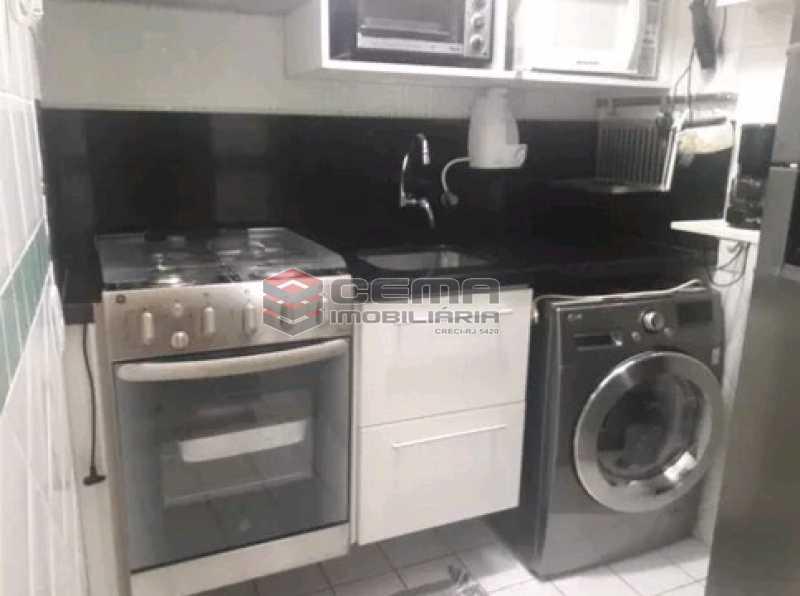 cozinha - Apartamento à venda Rua Cândido Mendes,Glória, Zona Sul RJ - R$ 485.000 - LAAP11350 - 15