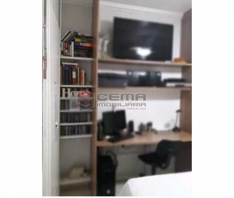 quarto - Apartamento à venda Rua Cândido Mendes,Glória, Zona Sul RJ - R$ 485.000 - LAAP11350 - 11